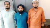 Hefazat leader among 3 held in Sonargaon
