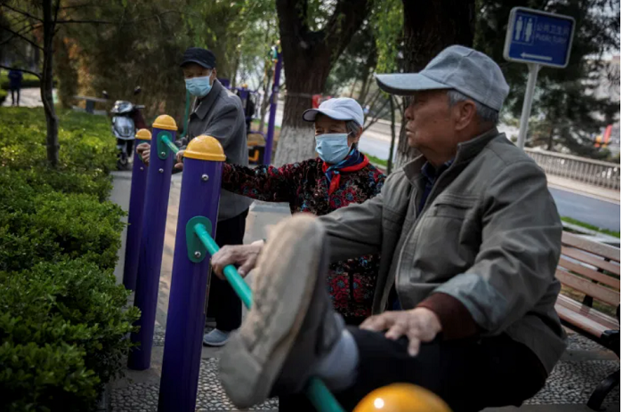 China's population seen growing older in economic danger sign