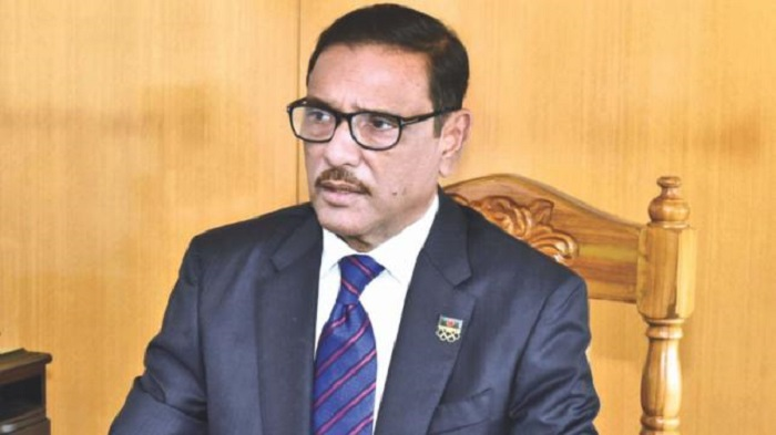 Quader urges BNP not to do politics over pandemic