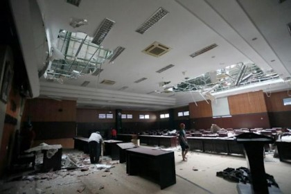 Seven killed after quake rocks Indonesia's Java island