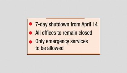 Now complete lockdown