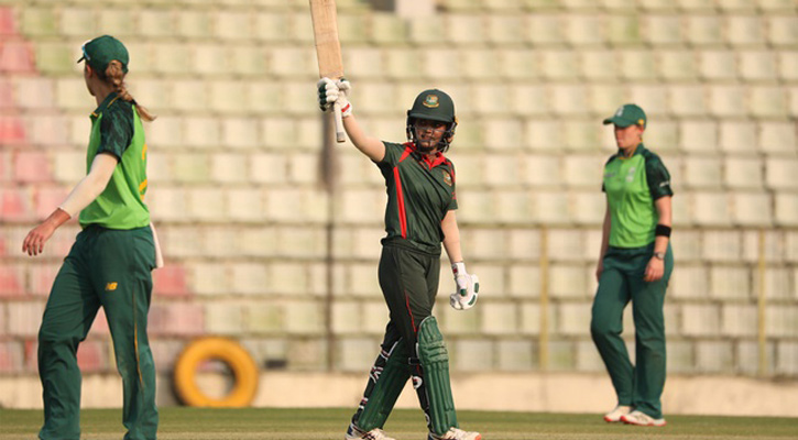 Nigar's century powers Emerging team to fourth straight victory against SA