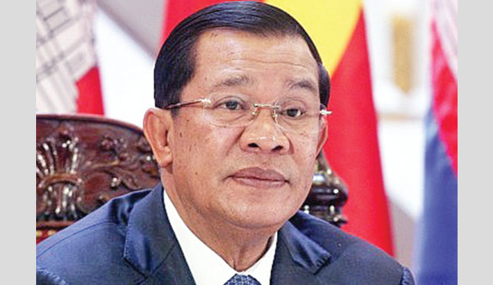 Cambodian PM threatens quarantine-breakers with jail