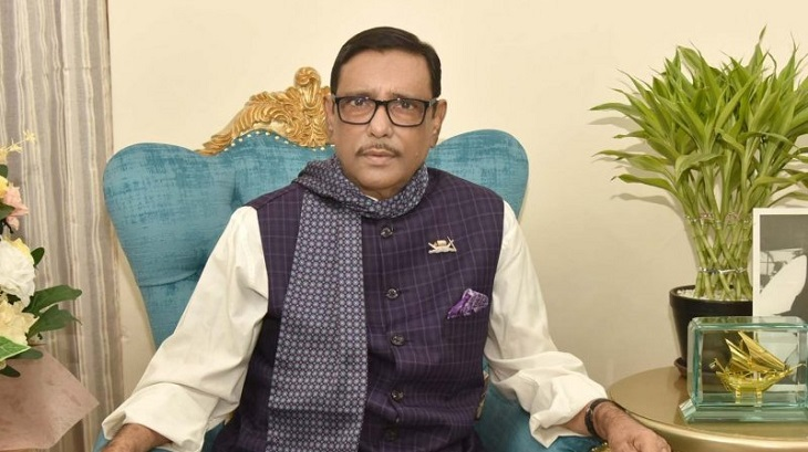 1st phase lockdown to continue till April 13: Obaidul Quader