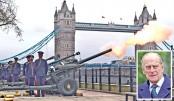 Gun salutes mark death of Prince Philip