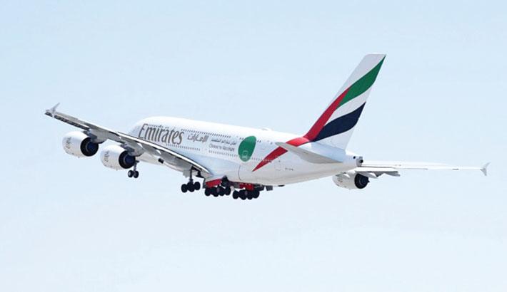 Emirates operates spl flight with vaccinated passengers