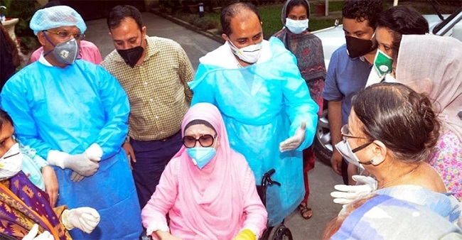 Khaleda Zia's physical condition stable: Head of medical team