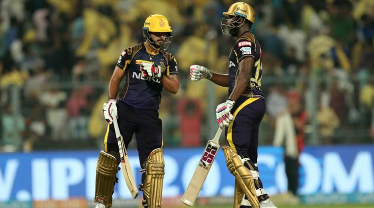 Rana helps Kolkata to century of IPL wins
