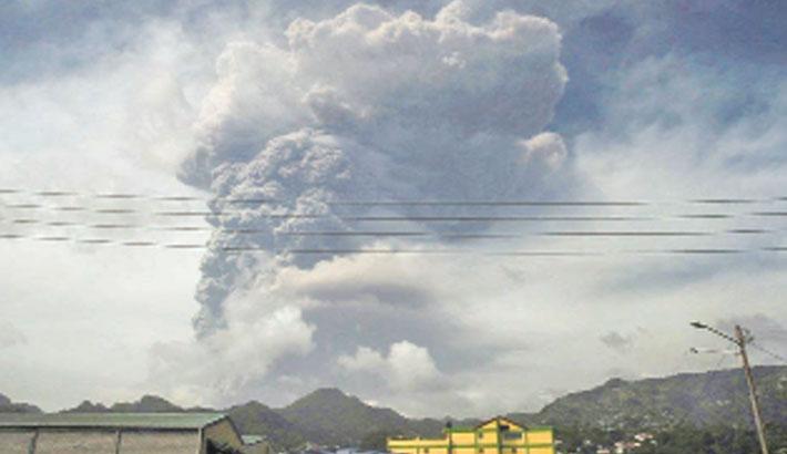 St Vincent braces for further volcano eruptions