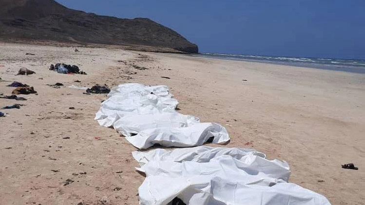 34 migrants dead after boat capsizes off Djibouti: IOM
