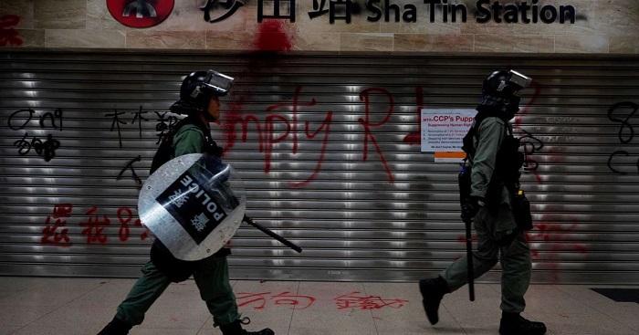 China attempting to frame innocent Hong Kong activist as a 'dangerous criminal'