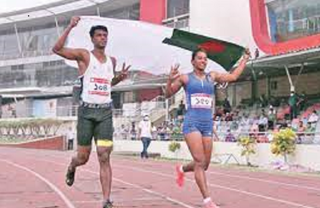 Sprinter Ismail returns home with injury