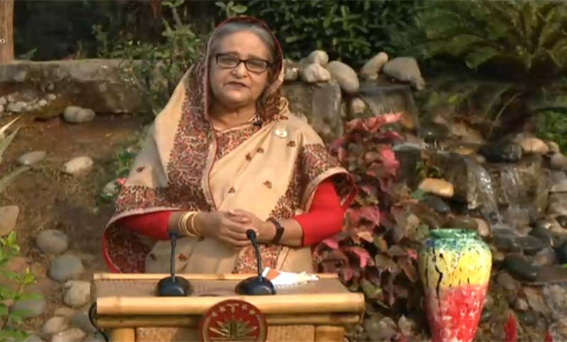 Prime Minister Sheikh Hasina greets countrymen marking Pahela Baishakh