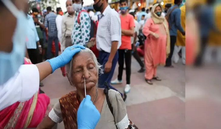 World's highest ever 1,61,736 infections in a day recorded in India