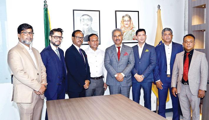 New BGMEA board takes office