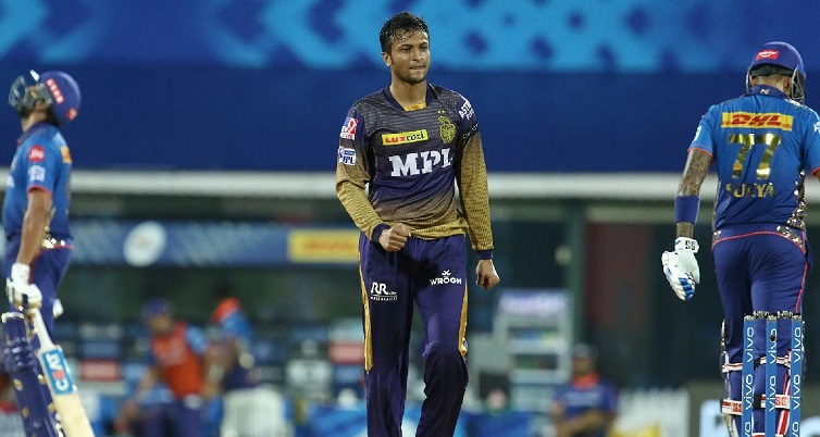 Shakib's KKR fail to close the deal against Mumbai
