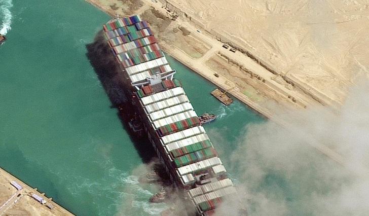 Suez megaship owner haggles over $900m release demand