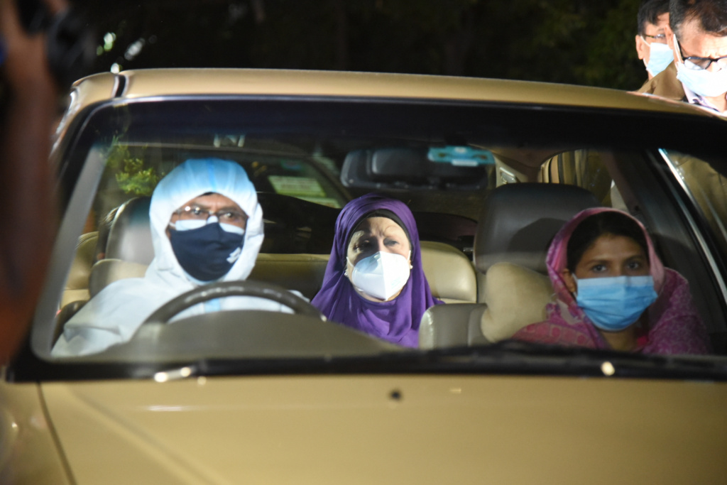 Khaleda returns home as initial CT scan report is very good