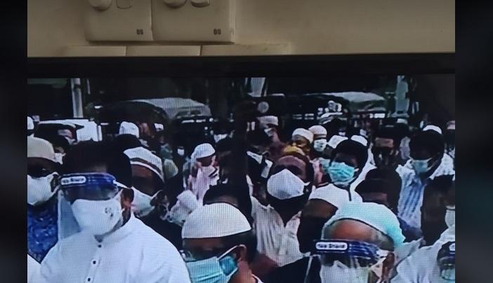 Namaz-e-janaza of late SCBA president Matin Khasru held at SC premises