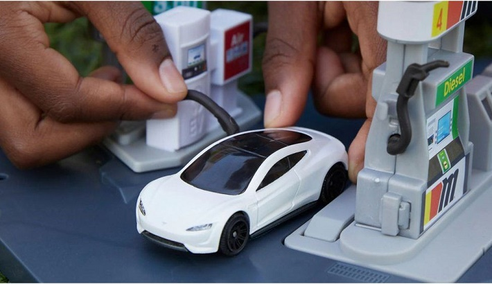 Matchbox cars get green makeover in eco drive