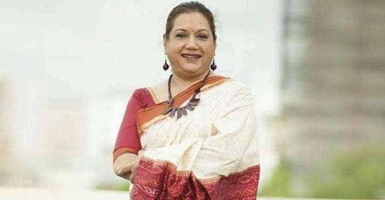 Actress Kabari on life support