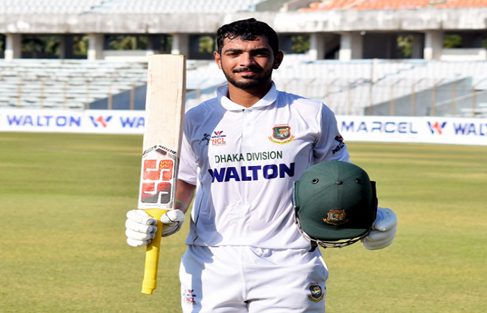 Saif Hassan eager to prove himself