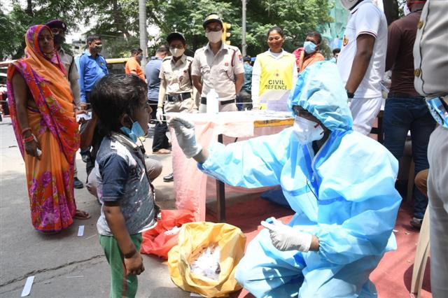 Highest-ever single-day spike in India with 2.17 lakh fresh Covid cases