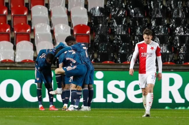 Arsenal ease past Slavia Prague into Europa League semi-final