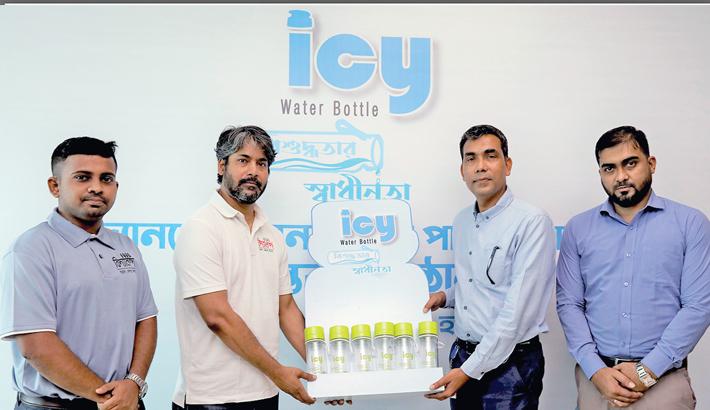 RFL donates icy water bottle to Bidyanondo Foundation