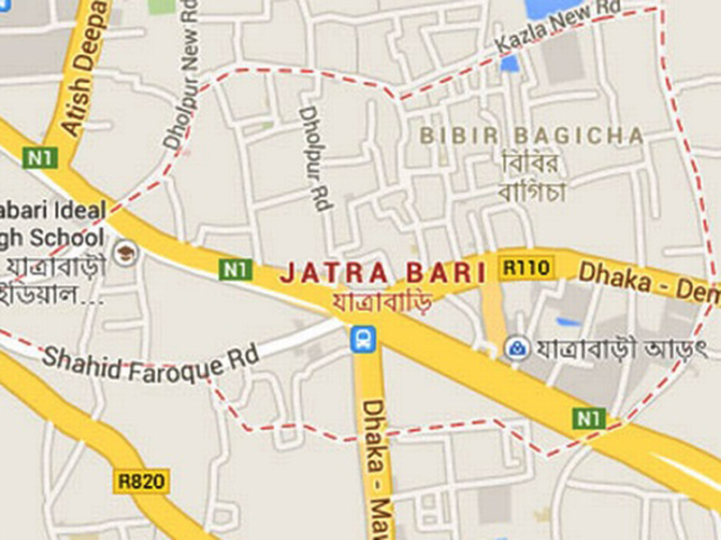 Rickshaw-puller killed in city road crash