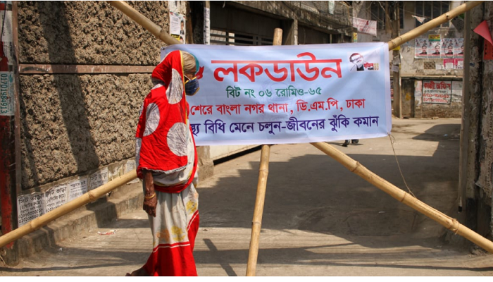 Lockdown day 3: Dhaka streets largely deserted