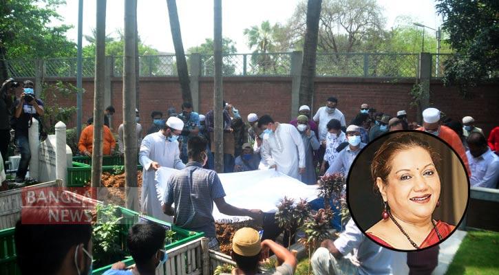 Kabori laid to rest at Banani graveyard