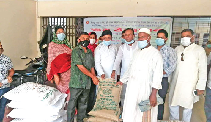 Seeds free of cost among marginal farmers