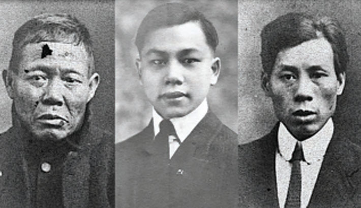 Six 'missing' Chinese survivors of the Titanic