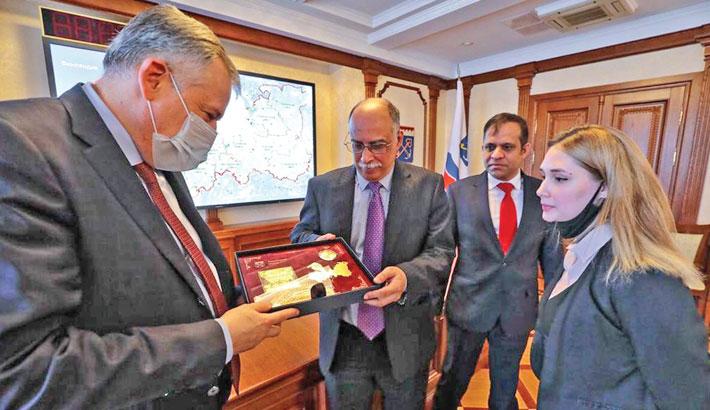 Leningrad assures Dhaka of more intensive trade