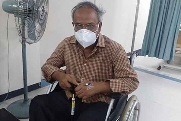 Rizvi shifted to cabin as he tested negative for Covid-19