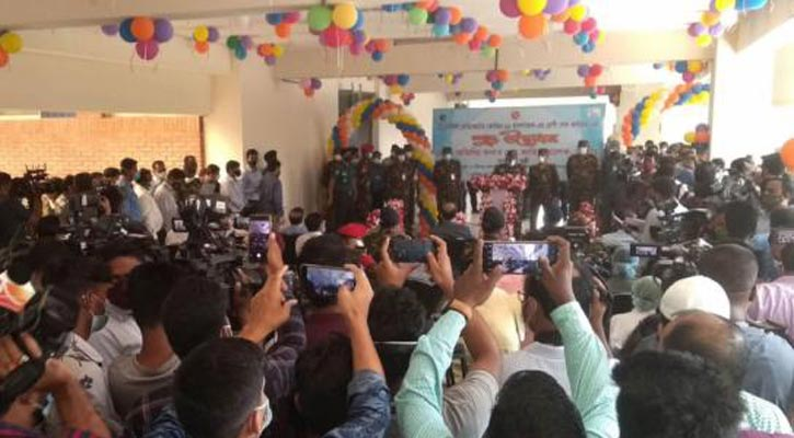 COVID-19 hospital at DNCC market inaugurated