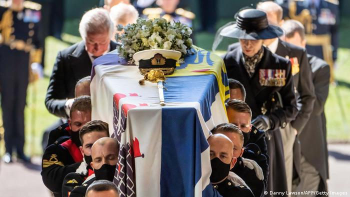 Prince Philip laid to rest in Royal Vault at Windsor Castle