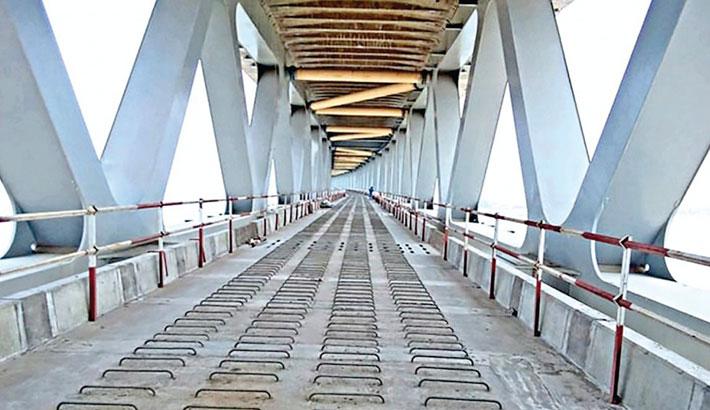 Padma Bridge Rail Link project affected by flight suspension