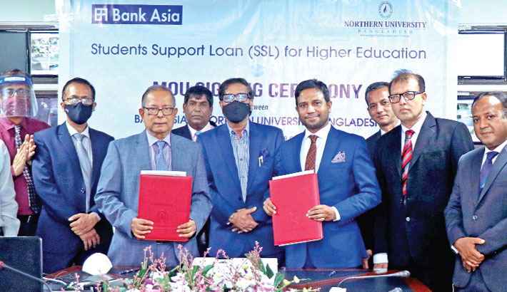 Bank Asia introduces loan for higher edn