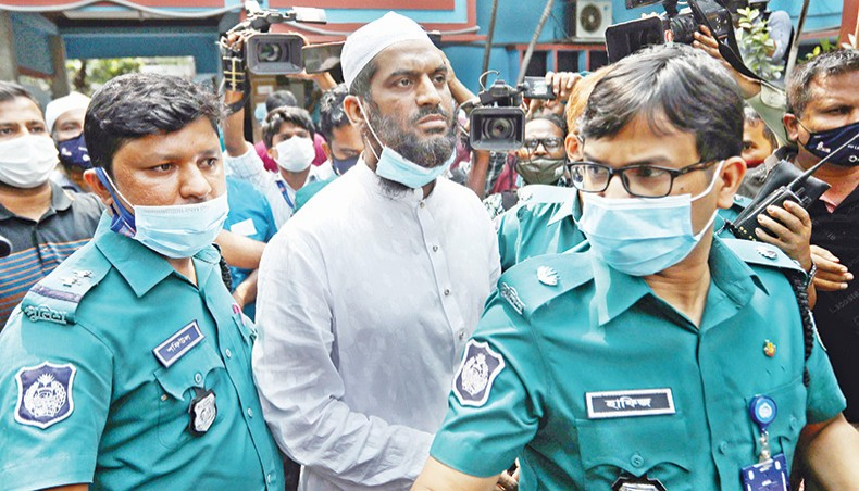 Hefazat leader Mamunul put on seven-day remand