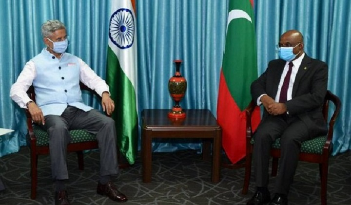 Maldives Foreign Minister meets Jaishankar, discusses regional, international issues