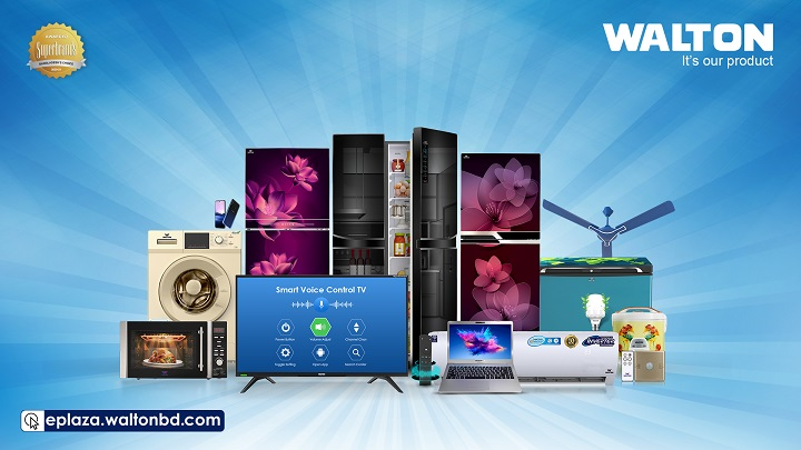 Customers get lucrative discounts on Walton products' online purchase