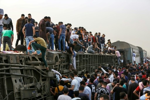 11 dead, almost 100 hurt in Egypt train accident: health ministry