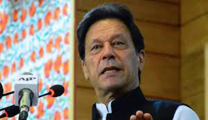 Pakistan PM says insulting Mohammed should be same as denying Holocaust