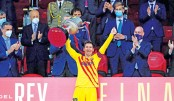 Messi fires Barca to Cup final win
