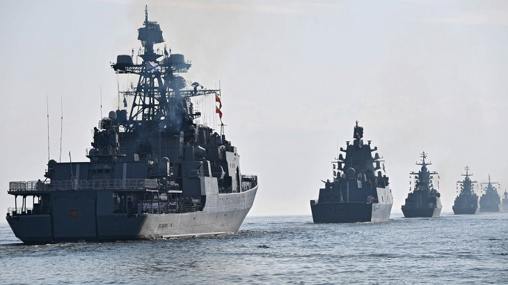 Russia ramps up Black Sea military exercises