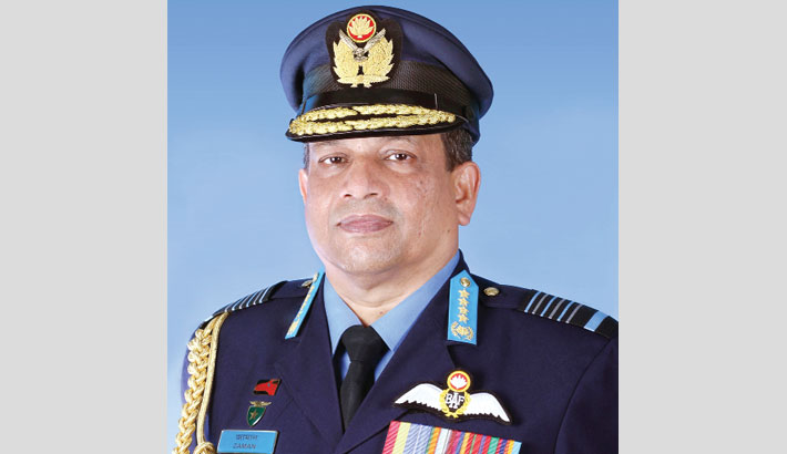 Air chief departs for Turkey