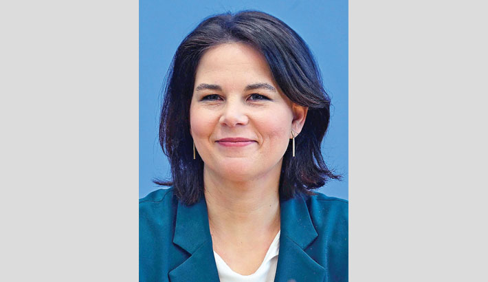 Greens name Annalena Baerbock as candidate to succeed Merkel
