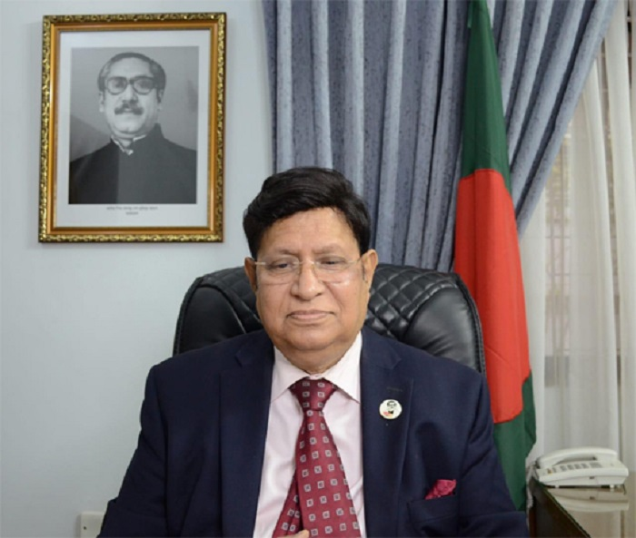Russia proposes manufacturing its vaccine in Bangladesh: Momen